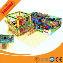 Best Indoor Playground, Indoor Wood Rope Course, Kids Amusement Park Toys