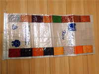 High Quality BOPP Laminated PP Woven Bag For Packing Rice Flour