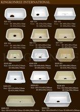kingkonree polished hard acrylic sink kitchen