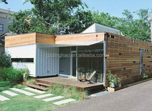 Low cost economical light steel villa for sale in guangzhou