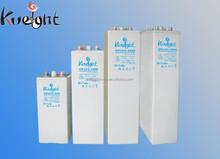 2V-2000Ah OPzV series Tublar Flooded Gel Battery Valve Regulated Lead Acid Battery for Solar Energy System and Telecommunication