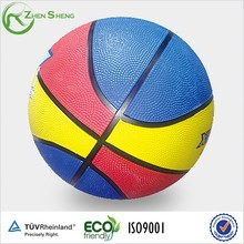 Zhensheng Cheap Synthetic Rubber Basketball Sports Basketball