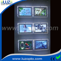 Acrylic Material Led Crystal - Buy Crystal Light Box, crystal led ceiling light with remote, battery powered led light