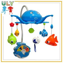Remote control baby mobile hanger musical projector sleeping light baby mobile toys