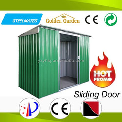 Sturdy construction DIY galvanized steel sheet innovative metal house