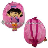 Wholesale Dora the Explorer plush Backpack Children's School Bags ,Cartoon Toys Backpack