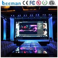 new design 2015 LEEMAN LED ph12.5 indoor mesh curtain transparent full color led display video wall screen