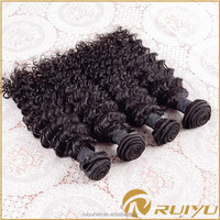 Wholesale brazilian loose deep wave hair weave for african americans, top quality hair weave