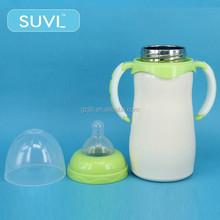 non-toxic impact resistance round nipple 150ml pigeon stainless steel baby bottle liner