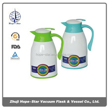 1.0L plastic body coffee pot/vacuum jug/thermos jug