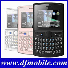 Low End TV Quad Band Phone Mini Qwerty Keyboard Used Cell Phone Asha205