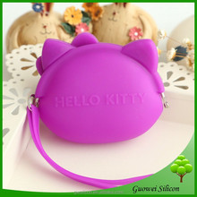 Waterproof Silicone bags for young girls,Silicone Change Wallet
