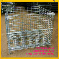Wire mesh container B-5(1000*800*840MM-6.4mm-1500kg