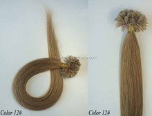 grade AAA peruvian U tip pre-bonded hair extensions natural cheap remy extention hair wigs