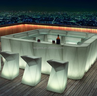 led bar table/party furniture
