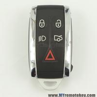 Smart key KR55WK49244 4 button with panic 315mhz for Jaguar Super V8 car key