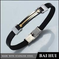 2015 Lucky Men's Stainless Steel Bracelet Jewelry Wholesale, Alibaba Men's Stainless Steel Bracelet