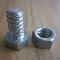 Gr6.8 hex head bolt and nut