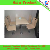 HOT fast food table and chairs KL-KF-0062