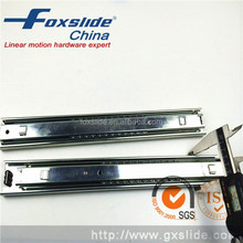 45mm Telescopic Hook Mounted Drawer Slide Channels Push To Open