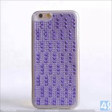 hot new products for 2015 diamond case for iphone 6 plus, TPU back cover for iphone 6 plus bling case
