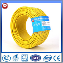 red yellow blue green 2 cores copper conductor building wires