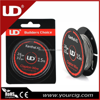 UD clapton Wire spool manufacture best quality youde e cigarette A1electric resistance wire