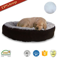 New Design All Weather Waterproof Round orthopedic pet bed