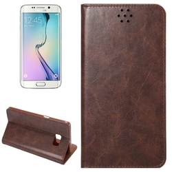 Paypal acceptable Premium leather cover for Samsung s6 edge plus back case