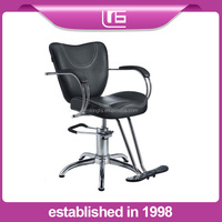 woman' classical old styling salon hairdressing barber styling chair
