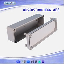 80*250*70mm Electrical ABS/PC IP66 Waterproof Enclosure , Waterproof Box Series DS-AG-0825