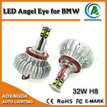LED Angel Eye light 32w,H8 12v LED Marker Lights,32W H8 Angel eyes for car