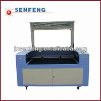 SENENG CO2 coconut shell 2 heads laser engraving and cutting machine pice hot sale