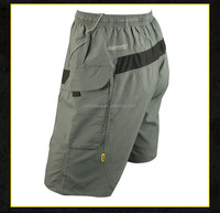 Summer Cycling Jerseys Bike Five Minutes Pants Men Gray Breathable Shorts
