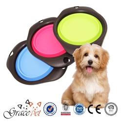 Grace Pet - dog travel bowl, collapsible pop-up bowl