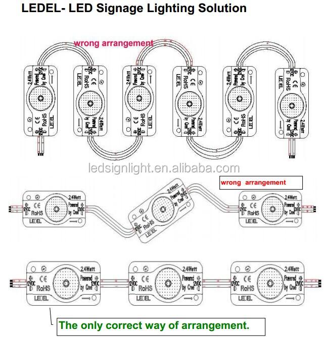 Eclairage exterieur led pour enseigne de caisson lumineux for Eclairage enseigne exterieur