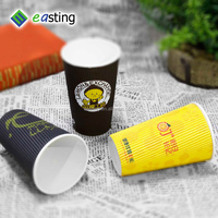 wholesale price 16oz paper hot coffee cups