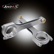 with ARP bolt H beam Forge 4340 For Nissan Skyline R32 R33 R34 GTR connecting rod