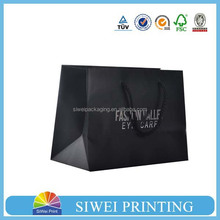 2015 Custom Logo Printed paper shopping bag for packaging