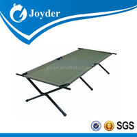 Alibaba hot sale new design king size wood camping bed 2877B