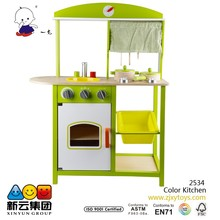 Color Kitchen Play 2015 NEW wooden Pretend toys