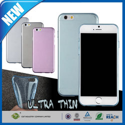 C&T 2015 Fashion Classical Transparent 0.3mm Soft TPU Back Cover Case for Micromax Canvas Spark Q380