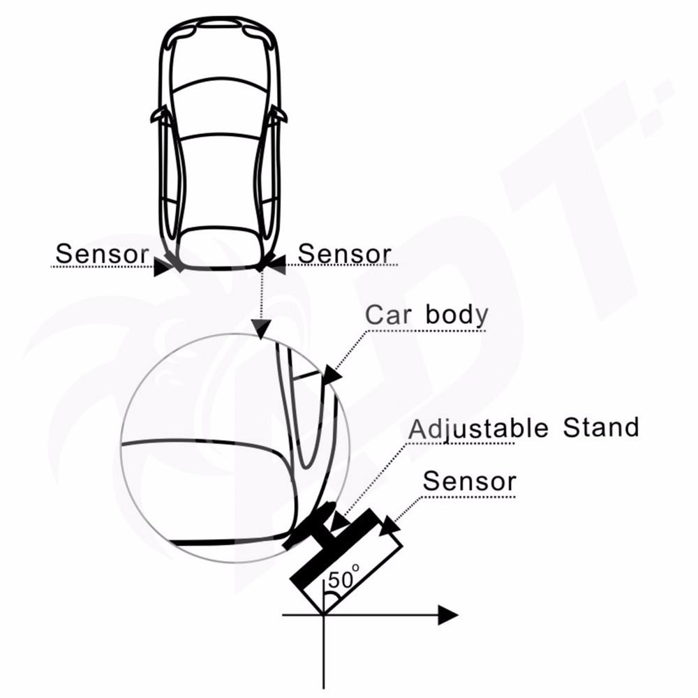 24ghz mircrowave sensing technology bsa warning sensor