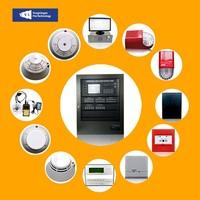 Hot Sale Analog Intelligent GSM Protection Addressable Fire Alarm Control Panel