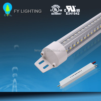 UL/CUL DLC certified led refrigerator case lighting 180 degree beam angel D shape end cap 120lm/w