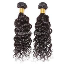 unprocessed human hair weave brazilian water wave wet and curly hair extensions