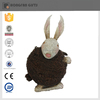 hot sell metal lovely easter bunny for garden decoration