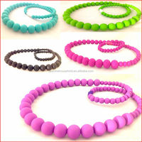 BPA Free Soft silicone beads wholesale