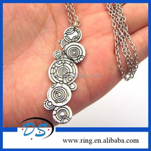 Dr Who Whovian Tardis Doctor Who Gallifreyan Pendant Necklace