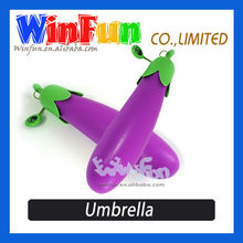 Nice Vegetable Shape Design Low Cost Umbrella Colorful Umbrella Cheap Kids Umbrella